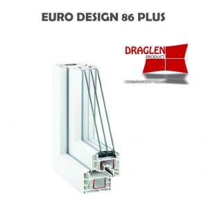 FERESTRE DIN PROFIL EURO DESIGN 86 PLUS